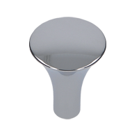 Cabinet Knob - Bright Chrome Finish