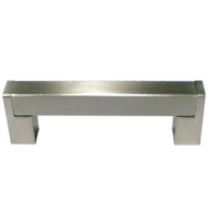 Cabinet Handle - 96mm - Stainless Steel - 0246