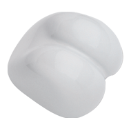 Body Line Cabinet Knob - White color