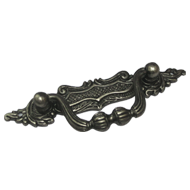 Cabinet Handle & Pull - Antique Silver
