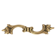 Rococo Cabinet Handle - 128mm - Patine