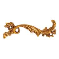 Cabinet Handle - Gold Finish - Right -