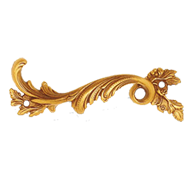 Cabinet Handle - Gold Finish - Left - 1