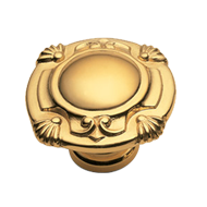LEONARDO Cabinet Knob - Gold Finish / O