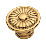 MICHELANGELO Cabinet Knob - Gold Finish