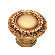 RAFFAELLO Cabinet Knob - Gold Finish in