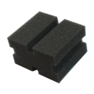 Cleaner Rails Sponge for Art. 2201 Grey