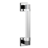 Door Pull Handle - Glass/SS Finish