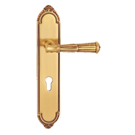 Volterra  Door Lever Handle on plate -