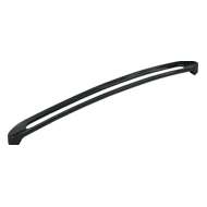 Cabinet Handle - 340mm - Anthracite Fin