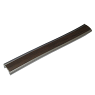 Cabinet Handle - Aluminium with wood Fi