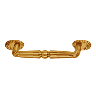 Cabinet Handle - Old Gold Finish - 128m