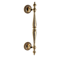Door Pull Handle  - Gold Plated Finish  - 252mm