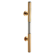 Door Pull Handle  - Gold Chrome Finish