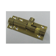 Regular Tower Bolts - 2 Inch - Gold Fin