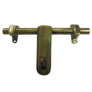 Aldrop - 18 Inch - Antique Brass Finish