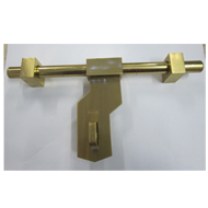 Square Aldrop - 14 Inch - Gold Finish