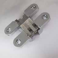 Concealed Hinge - 70X14mm - Chrome Plat