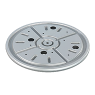 360° BALL BEARING SWIVEL PLATE - Carrying capacity - 300 Kg