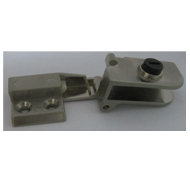 Glass Hinge - 9mm - SS Finish