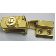 Glass Hinge - 6mm - Gold Finish