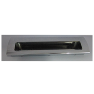 Flush Sliding Handle - Chrome Plated -