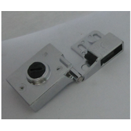 Glass Hinge - 6mm - CP Finish