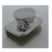 Glass Knob Without Hole - 6mm - CP Fini