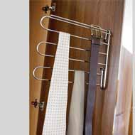 Clothes Stand - 10X11 Inch -  Chrome Pl