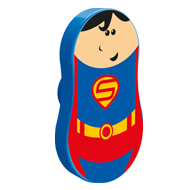 Superman Kids Furniture Knob
