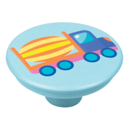 Colourful Truck Design Cabinet Knob