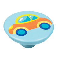 Colourful Car Design Cabinet Knob