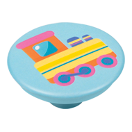 Colourful Train Design Cabinet Knob