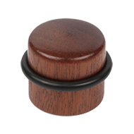 Sapele Wood Door Stopper With Adhesive