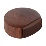Sapele Wood Door Stopper With