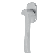 Window Handle - Satin Chrome Finish