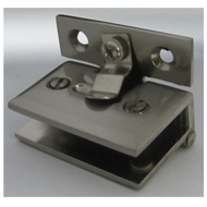 Glass Hinge - SS Finish - 10mm