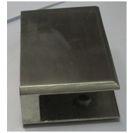 Square Glass Folding Bracket  - 1.2x3x1