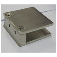 Square Glass Folding Bracket  - 2x2x12m