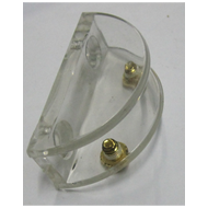 D Bracket - 12mm - Transparent Colour