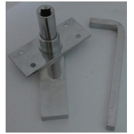Square Loft Lock With Allen Key(Heavy)