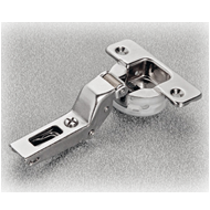 SILENTIA 17CRANK - Soft closing Hinges with Domi mounting Plate - SS Finish