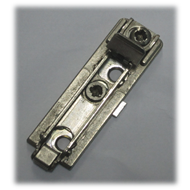 Domi Mounting Plate - (Special plate for clip on hinges) - SS Finish