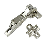 200 Series for Corner Application - 165* Hinge with Domi Mounting Plate - SS Finish
