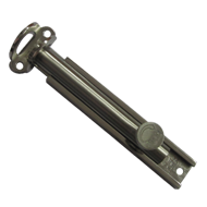 Self Lock Tower Bolt  - 18 Inch - Stain