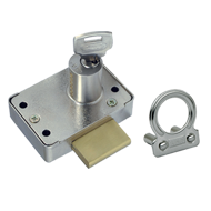 Pin Cylinder Lock - 23mm - Nickel Plate