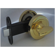 Bathroom Indicator Latch With Knob & De