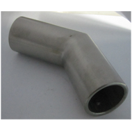 Pipe Connector 135 Degree - SS Finish