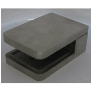 Square Bracket - 14mm - SS Finish