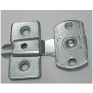 Sliding Latch - Silver Finish
